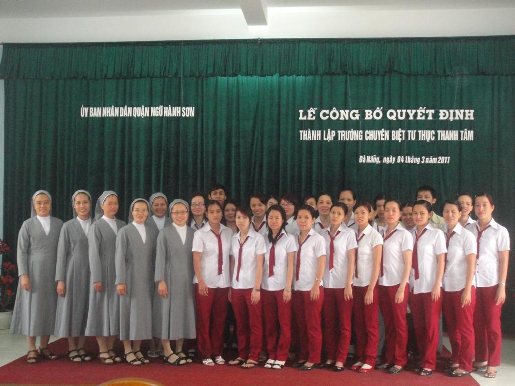 Thành lập trường CBTT Thanh Tâm Đà Nẵng
